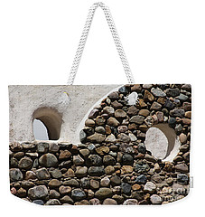 Weekender Tote Bag featuring the photograph Taos Texture by Brian Boyle