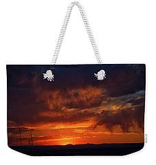 Taos Virga Sunset Weekender Tote Bag by Jason Coward