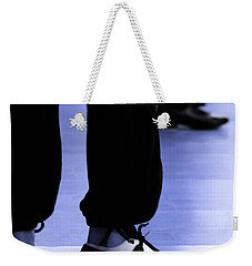 Tap Dance In Blue Are Shoes Tapping In A Dance Academy Weekender Tote Bag