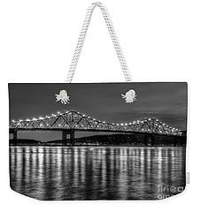 Tappan Zee Bridge Twilight IIi Weekender Tote Bag