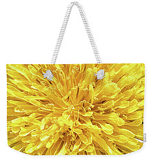 Weekender Tote Bag featuring the photograph Taraxacum by Traven Milovich