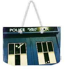 Tardis Dr Who Weekender Tote Bag by Nina Prommer