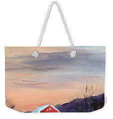 Target Range Barn Weekender Tote Bag by Larry Hamilton