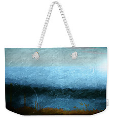 Weekender Tote Bag featuring the photograph Tarn by Linde Townsend