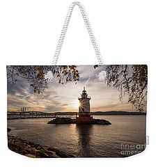 Tarrytown Lighthouse Weekender Tote Bag