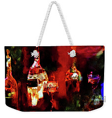 Weekender Tote Bag featuring the painting Taste Of Wine by Lisa Kaiser