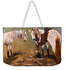 Tatanka Star Pony And The Spirit Of Unbridled Love Weekender Tote Bag