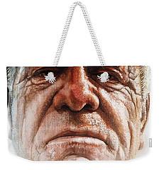Tatoos Of A Resilience Weekender Tote Bag by J- J- Espinoza
