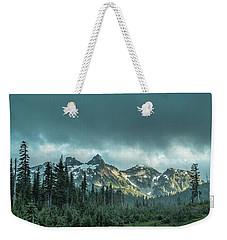 Tatoosh With Storm Clouds Weekender Tote Bag