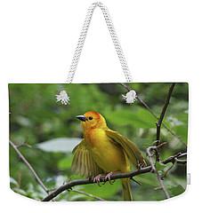 Taveta Golden Weaver #3 Weekender Tote Bag