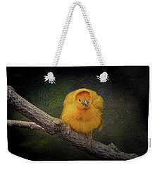 Taveta Golden Weaver  Weekender Tote Bag