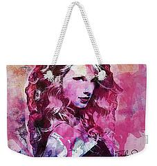 Taylor Swift - Oncore Weekender Tote Bag by Sir Josef - Social Critic - ART