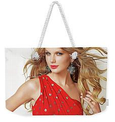 Taylor Swift Weekender Tote Bag by Twinkle Mehta