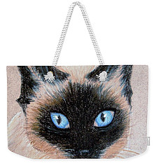 Tazzy Weekender Tote Bag by Jamie Frier