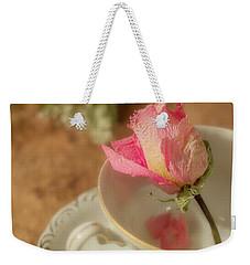 Tea And Roses Weekender Tote Bag