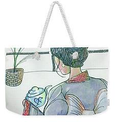 Tea Ceremonial  Weekender Tote Bag by Loretta Nash