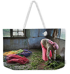 Tea Factory Weekender Tote Bag by Marion Galt