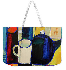 Tea Weekender Tote Bag by Mikhail Zarovny