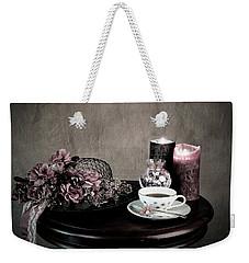 Tea Party Time Weekender Tote Bag by Sherry Hallemeier