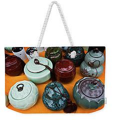 Tea Pots For Sale 4 Weekender Tote Bag