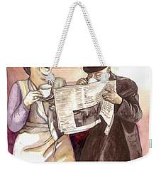 Tea Time Weekender Tote Bag