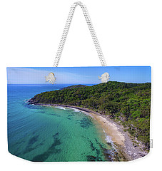 Weekender Tote Bag featuring the photograph Tea Tree Bay At Noosa by Keiran Lusk