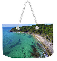 Weekender Tote Bag featuring the photograph Tea Tree Bay In Noosa National Park by Keiran Lusk