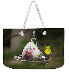 Teacup Finch Weekender Tote Bag