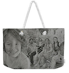 Teagan And Her Family Weekender Tote Bag