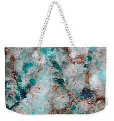 Teal Chips Weekender Tote Bag