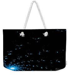 Teal Spiral Nebula Weekender Tote Bag