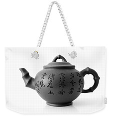 Weekender Tote Bag featuring the photograph Teapot by Gina Dsgn