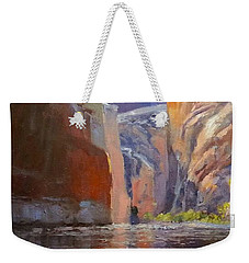 Teapot Point Colorado River Weekender Tote Bag