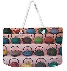 Teapots Weekender Tote Bag