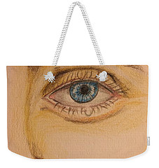 Tear Drop Weekender Tote Bag