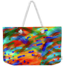 Tear Drops Weekender Tote Bag by Gayle Price Thomas