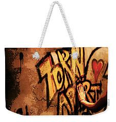 Tear This Wall Down Weekender Tote Bag