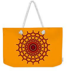 Teardrop Fractal Mandala Weekender Tote Bag