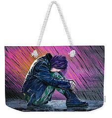 Tears In The Rain Weekender Tote Bag