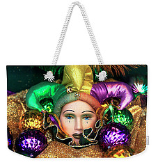 Tears Of A French Quarter Jester Weekender Tote Bag