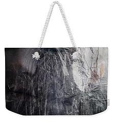Weekender Tote Bag featuring the digital art Tears Of Ice by Gun Legler