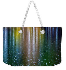 Weekender Tote Bag featuring the photograph Tears On A Rainbow by John Haldane