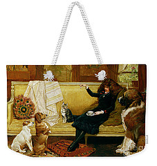Teatime Treat Weekender Tote Bag by John Charlton