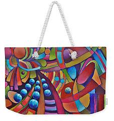 Technicolor Bloom Weekender Tote Bag