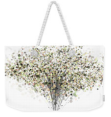 technology Abstract Weekender Tote Bag
