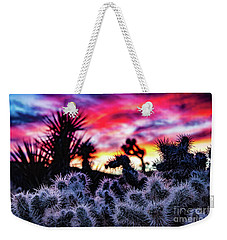 Teddy Bear Cholla Weekender Tote Bag