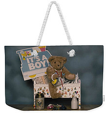 Teddy Bear - Its A Boy Weekender Tote Bag