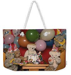 Teddy Bear Party Weekender Tote Bag