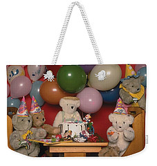 Teddy Bear Party Weekender Tote Bag