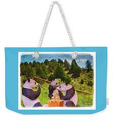 Teddy Bear Picnic Weekender Tote Bag